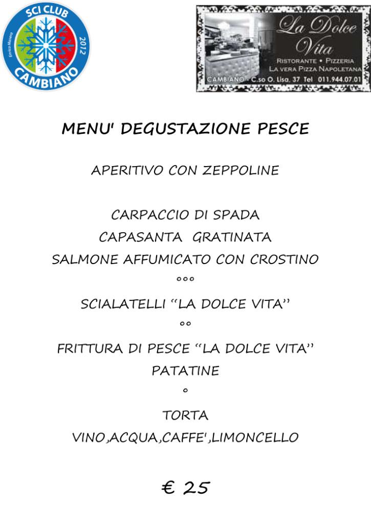 menu pesce